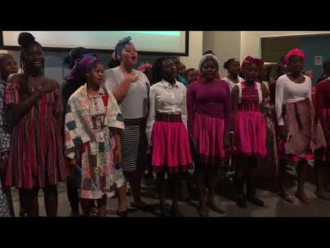 Namibian National Anthem at Culture Night